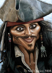 You can never trust a pirate and Captain Jack Sparrow is always a party favourite