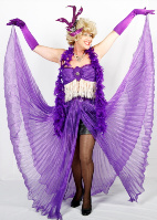 Ever the Showgirl The Divine Miss will sing and dance up a storm at your next celebration