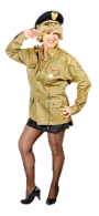 Bette Midler in full military uniform belting out Boogie Woogie Bugle Boy will bring your party to life.
