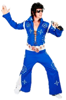 The King himself Elvis Presley is one of our most requested Celebrity Grams. Book him for your next party